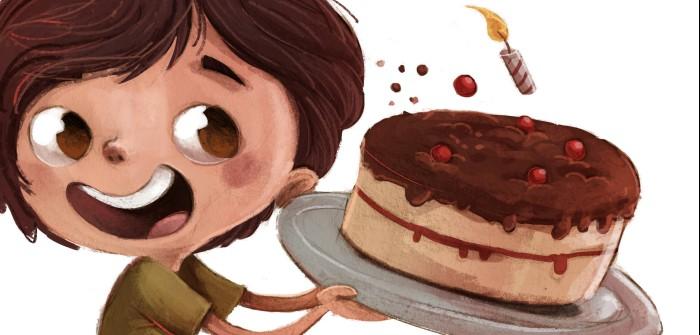 Kuchen bei Hauterkrankung: Rettung für den Kindergeburtstag!