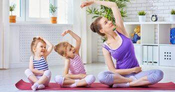Entspannungsuebungen mit Kindern, da gehört Joga auf jeden Fall dazu