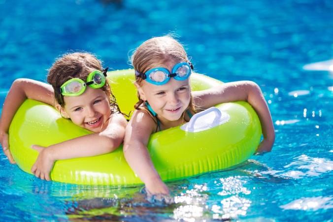 Riesiger Wasserspaß für Kinder ist bei den Poolanlagen auf dem Capmpingplatz garantiert. (#4)