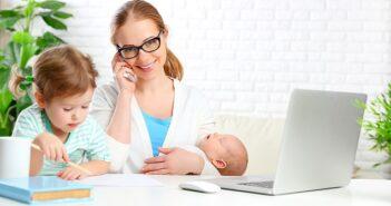 Vereinbarkeit von Familie und Beruf: Tipps gegen das schlechte Gewissen