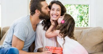 Ein Diamantring für die beste Mama und Ehefrau der Welt