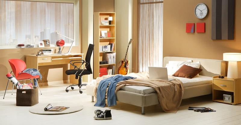 Die Jugendbetten im Standardformat sind zwei Meter lang und 90 cm breit. Zudem stehen etwas größere Betten zur Auswahl, die mit 120 oder 140 cm Breite mehr Platz zum Chillen bieten. (#03)