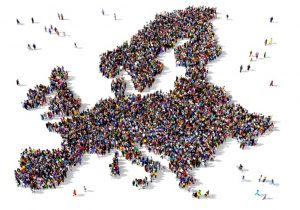 Das Bevölkerungswachstum in Europa wird eher als stagnierend oder sogar als rückläufig angesehen. (#2)